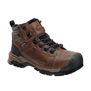 """Avenger 7330 Ripsaw Brown Carbon Toe EH PR WP 6"""" Work Boot"""